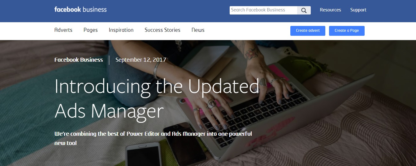 Facebook to combine Power Editor and Ads Manager into a new Tool